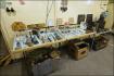 Nalezené artefakty v bunkru a okolí