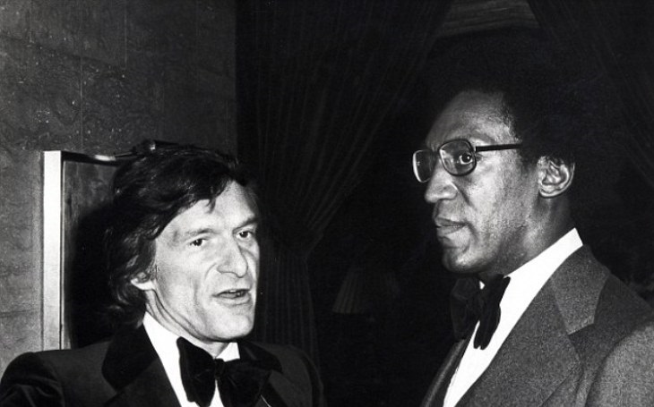 Hugh Hefner a Bill Cosby