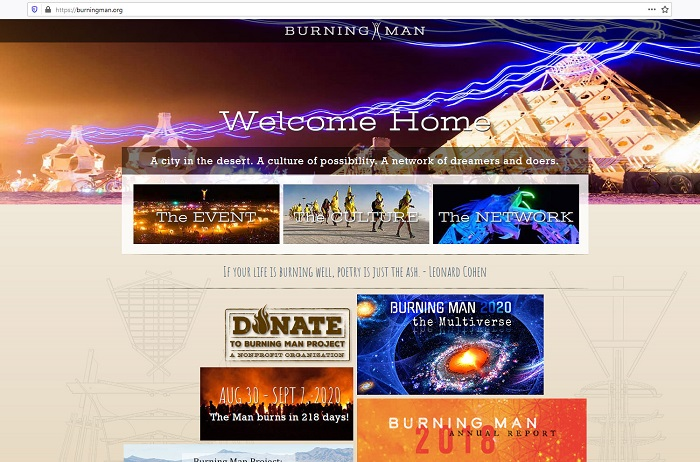 Burning Man HP