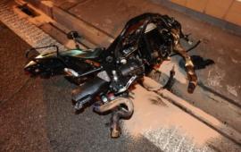 Další zbytečná smrt motorkáře v pražském tunelu Mrázovka