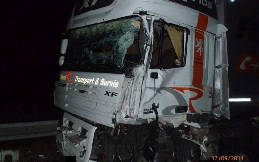 Dopravní nehoda u Hory Svatého Šebestiána