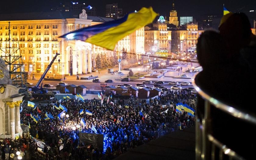 Ukrajinská revoluce po půl roce: vztek, zklamání, bída, smrt a beznaděj