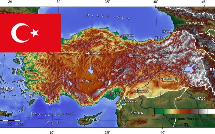 Ministerstvo zahraničí varuje před bezpečnostní situací v jihovýchodním Turecku