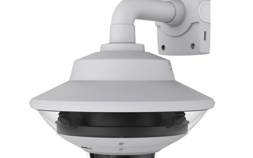 Axis představuje inovativní dohledové řešení se zorným polem 360° a přiblížením detailů