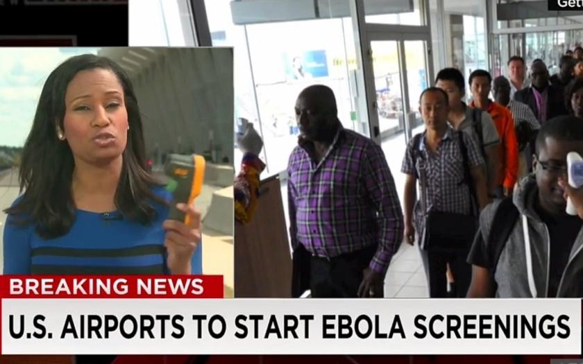 Americká letiště zavádí screening teploty cestujících na příletech z Afriky
