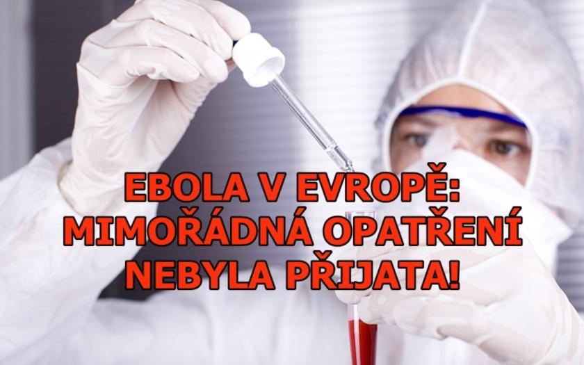 Cesta viru eboly do Evropy? Letecky do Bruselu. Bezpečnostní opatření? Nula.