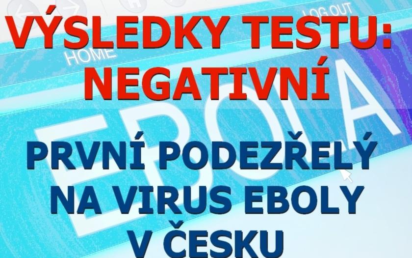 EBOLA: první případ v Česku? NE