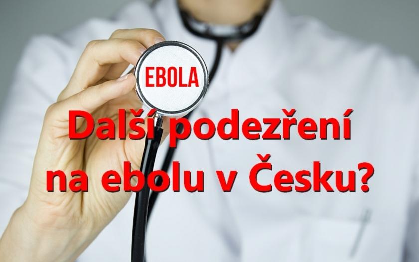 Další podezření na ebolu v ČR