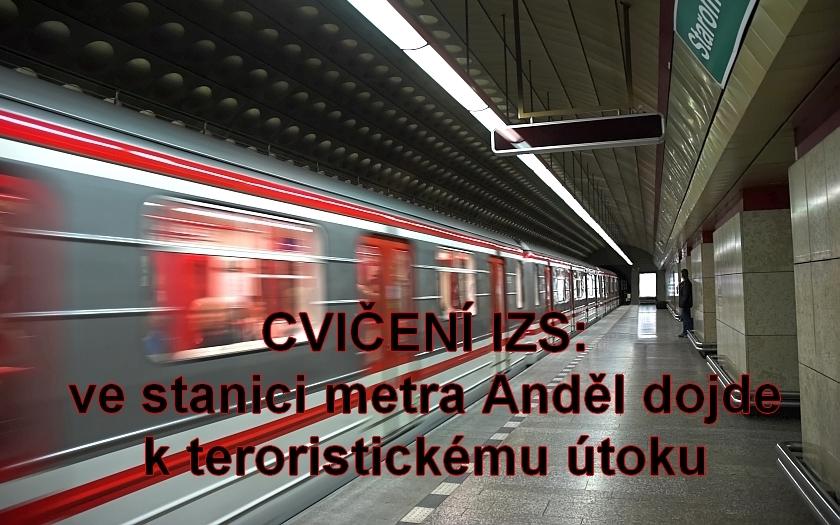 Pražské metro zažije největší cvičení ve své historii