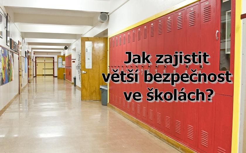 Bezpečnost škol po útoku ve Žďáru nad Sázavou