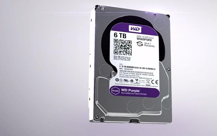 WD rozšiřuje řadu pevných disků pro kamerové monitorovací a sledovací systémy