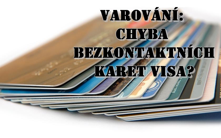 Bezkontaktní karty Visa jsou zranitelné vůči podvodným transakcím v cizí měně