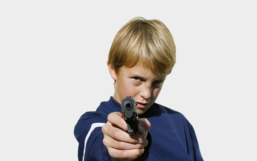 Násilí dětí a násilí na dětech v USA. Chmurné vyhlídky