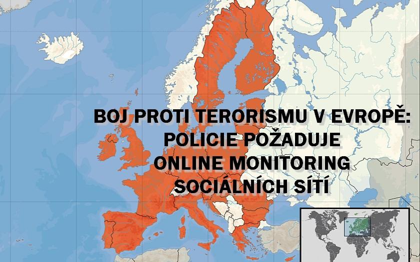 Ředitel EUROPOLU: tisíce Evropanů jsou pro nás teroristickou hrozbou, požadujeme větší pravomoci