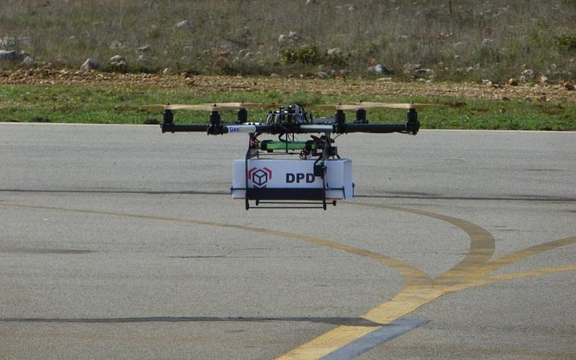 DPD testuje doručování zásilek pomocí dronů