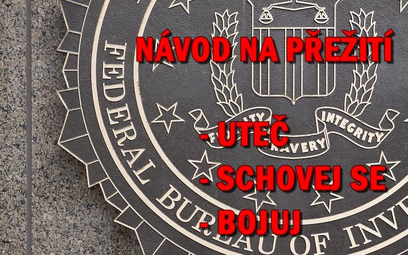 Návod americké FBI jak přežít útok šíleného střelce