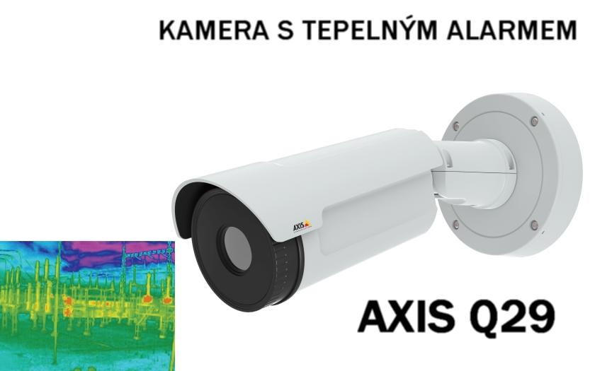 Dálkové sledování teploty kamerou