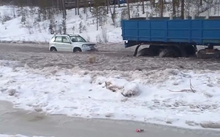 Kvalita ruských silnic? Katastrofa