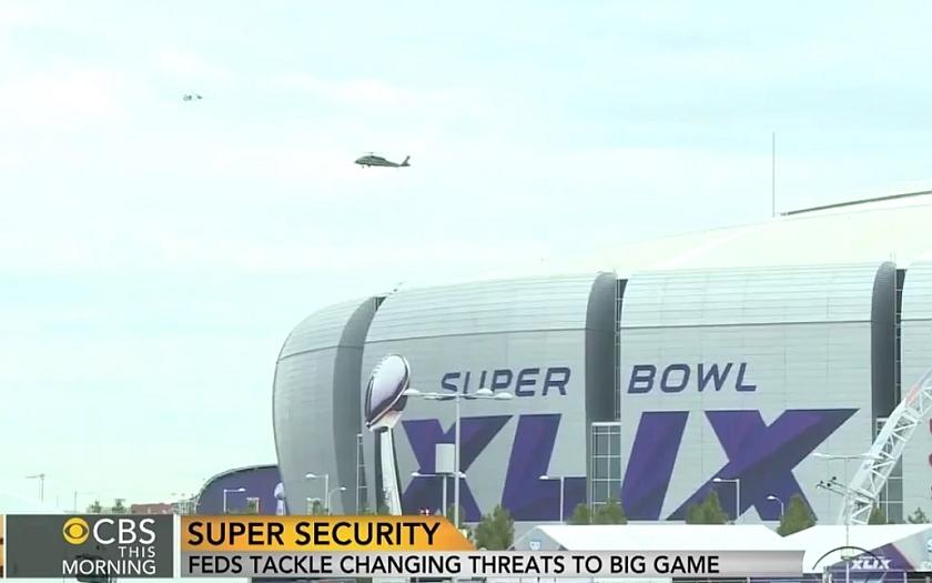 Americký Super Bowl začíná - mimořádná bezpečnostní opatření