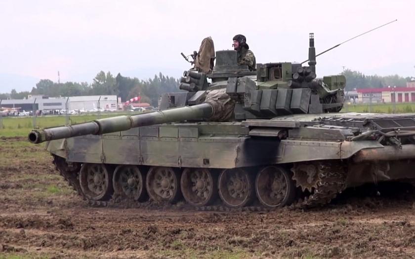 České tanky budou bojovat proti radikálním islamistům