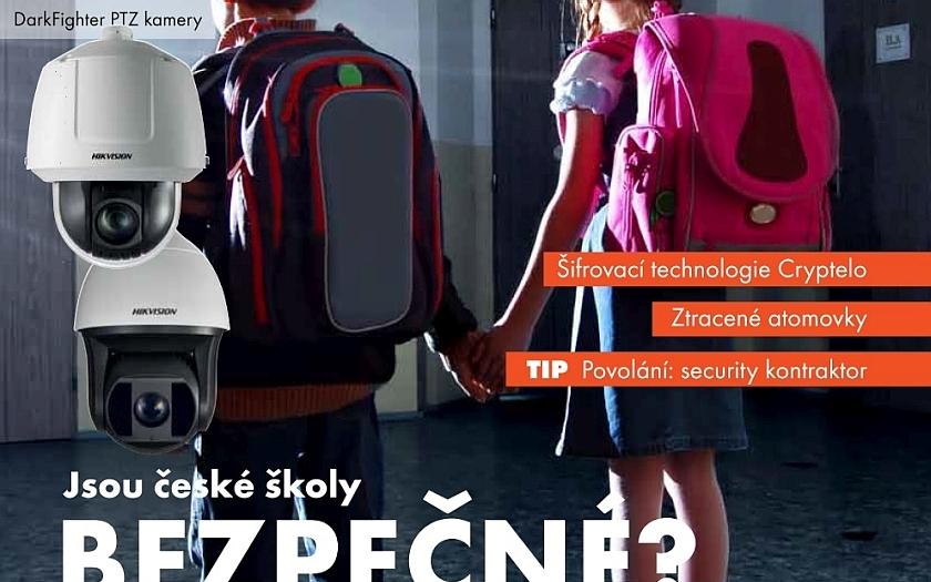 1. číslo Security Magazínu, rok 2015