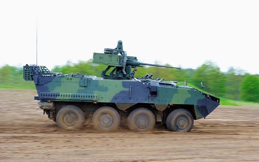 Obrněná vozidla PANDUR II budou vyráběna v Česku