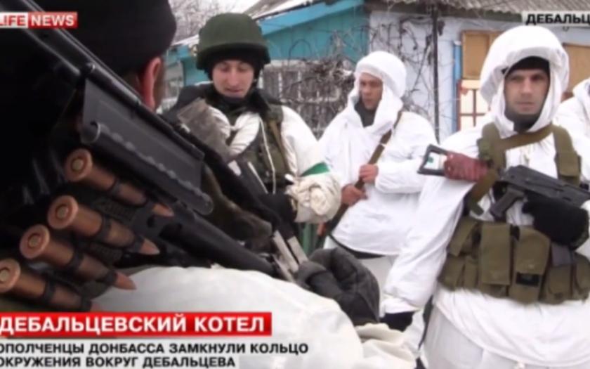 Kyjev zřídil hranici se separatisty, ti prý dobyli klíčové Logvinovo