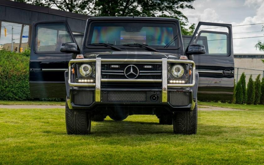 Obrněné SUV Mercedes za 1 000 000 USD