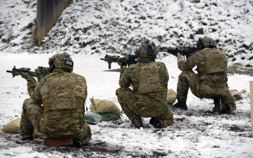 Armádní síly Lotyšska a USA společně na cvičení Atlantic Resolve