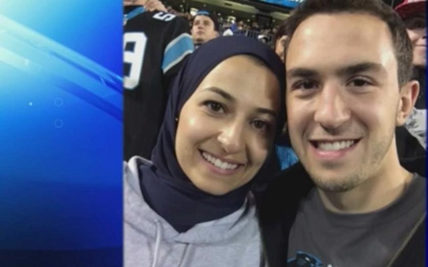 Američan zastřelil tři muslimské studenty, neměl rád náboženství