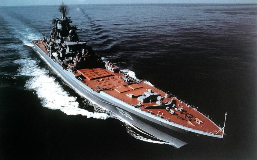 Ruská jaderná monstra třídy Kirov dostanou proti-lodní střely s rychlostí 5 Machů!
