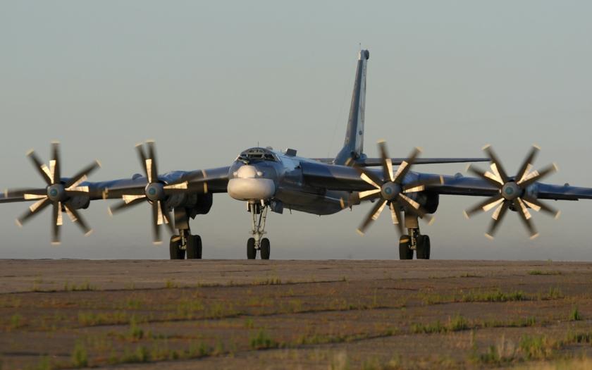 Ruské bombardéry TU-95 strašily Američany nad Guamem