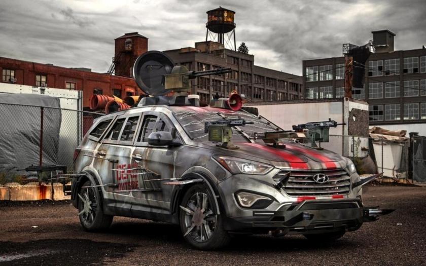 Hyundai vyrobil auto proti zombiím