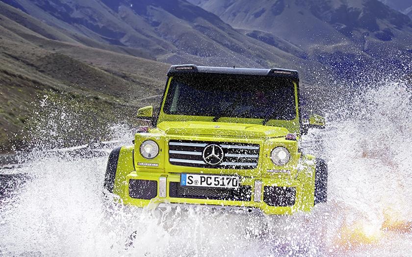 Mercedes-Benz G 500 4x4 pro Ženevu