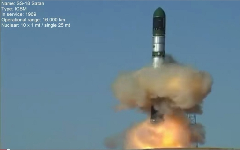 Ruský generál: naše jaderné rakety jsou připraveny na okamžitý úder
