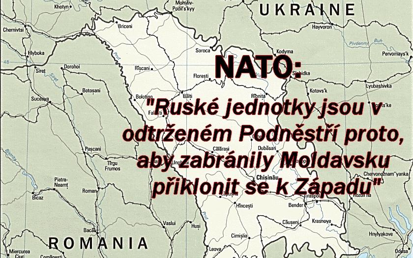 Moldavsko - hrozí další konflikt jako na Ukrajině? EU a NATO varuje Rusko