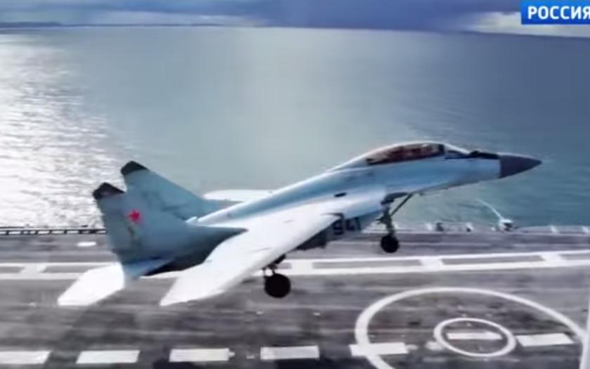 Rusko: postavíme obrovskou letadlovou loď. Experti USA: to nedáte