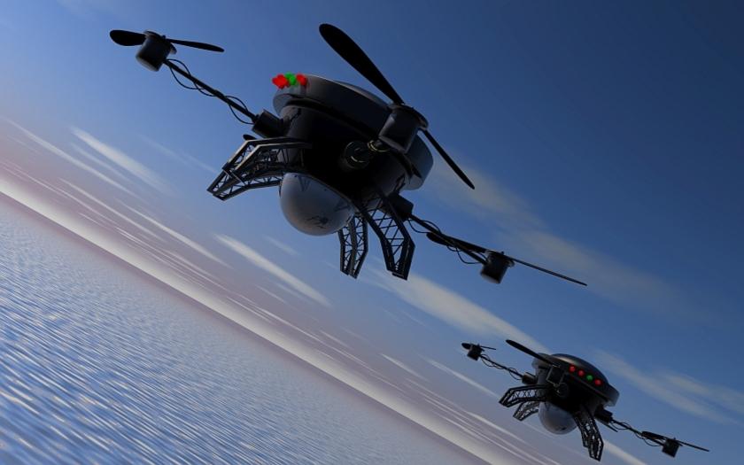 Nová zbraň pro F-15 a F-16? V hlavní roli drony