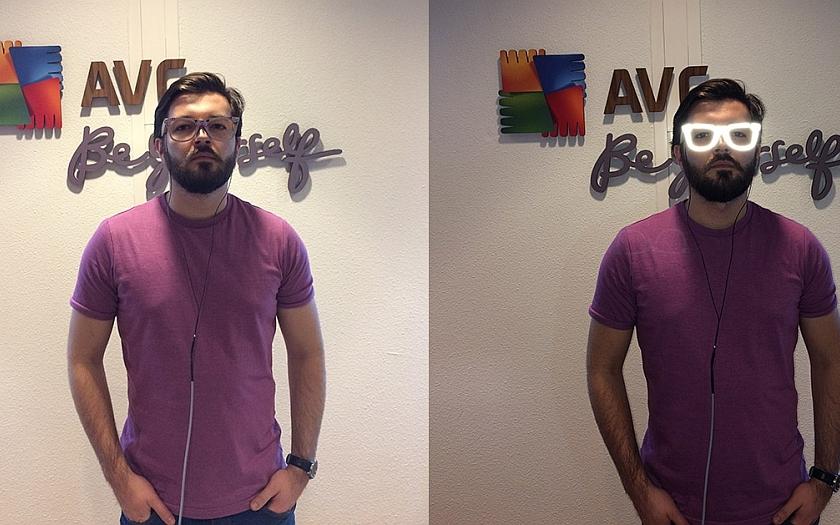 Projekt od AVG - anonymizér tváře