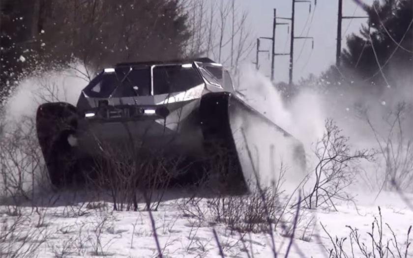 Video: Auto jak pro šíleného Maxe