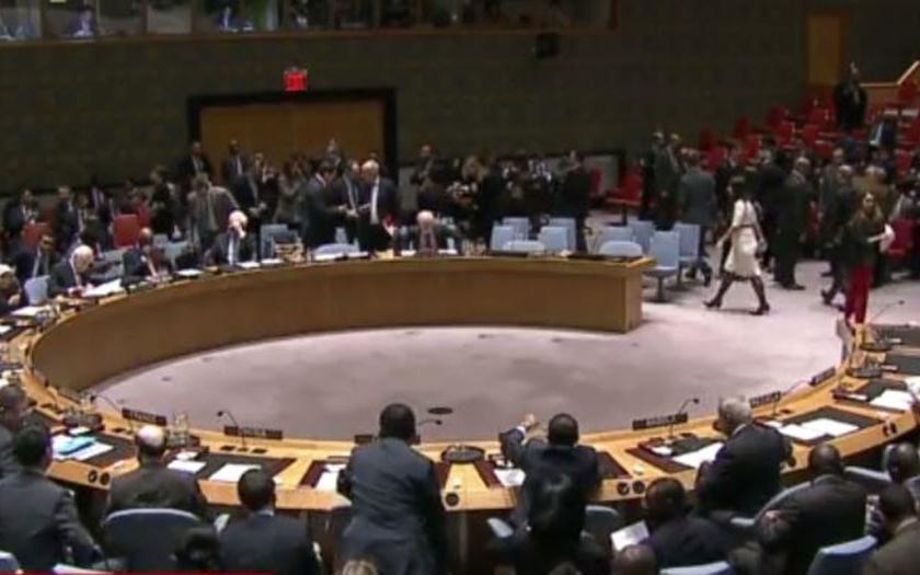 USA vetovaly v RB OSN rezoluci odsuzující Izrael kvůli Palestině
