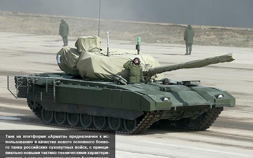 Revoluce mezi ruskými tanky: Armata převálcuje všechny