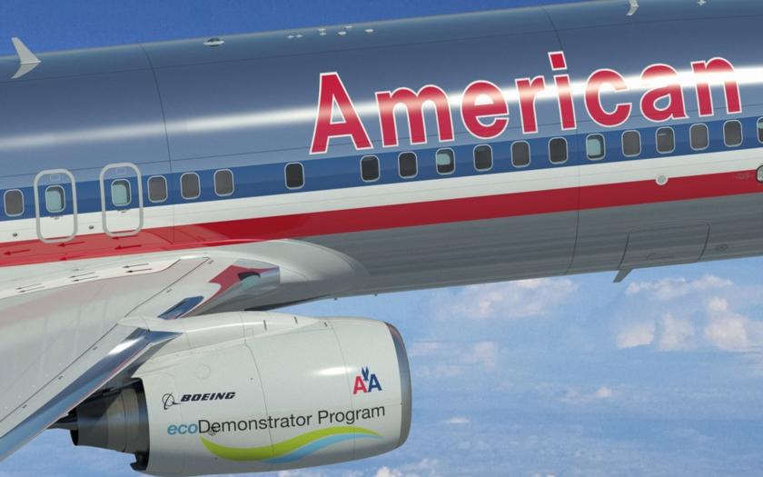 Díky pádu aplikace na iPadu nevzlétla letadla American Airlines