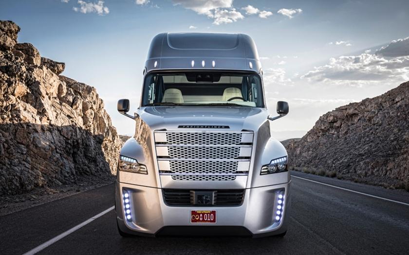 Autonomní kamión získal licenci ve státě Nevada