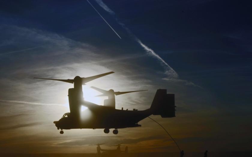 Prodej Boeing V-22 Osprey do Japonska schválen
