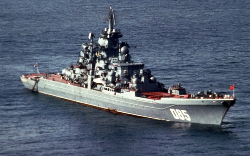 Jaderný křižník Admiral Nakhimov se stane nejmocnější lodí ruské flotily