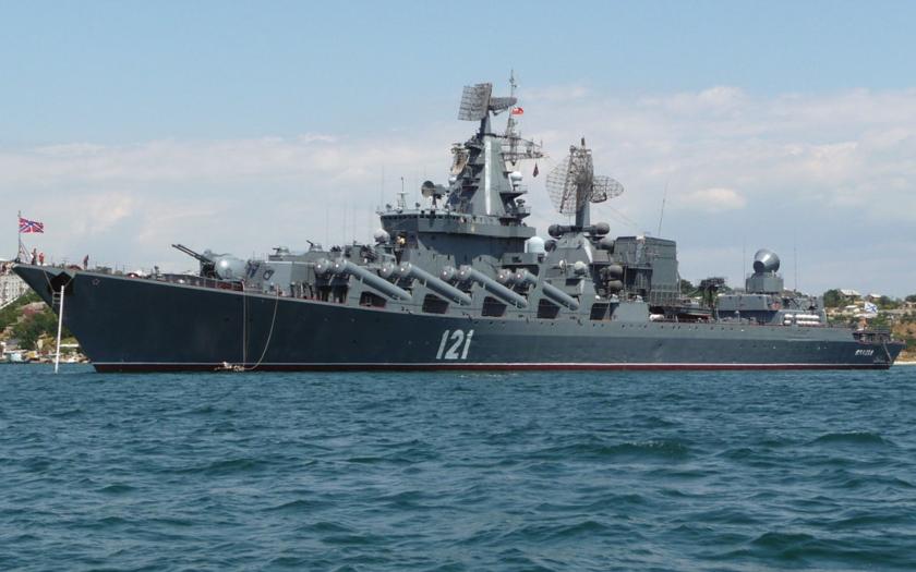Rusko posílá k břehům Sýrie raketový křižník Moskva