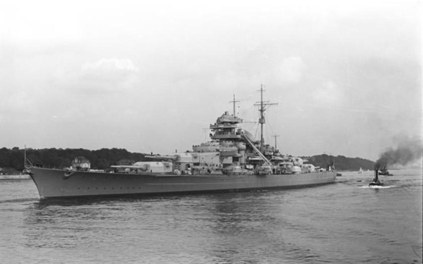 27. května 1941 se potopil Bismarck, Hitlerova chlouba
