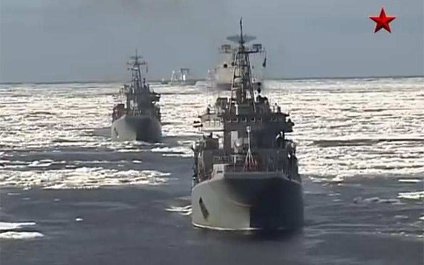 Rusko staví námořní základnu pro svou Kaspickou flotilu