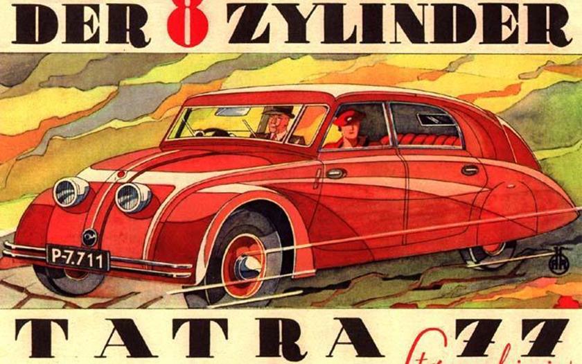 Tatra, která zabíjela nacisty